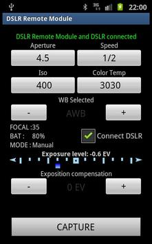 DSLR Remote Module captura de pantalla 1