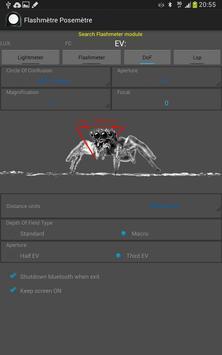 Flashimetro y Fotómetro captura de pantalla 12