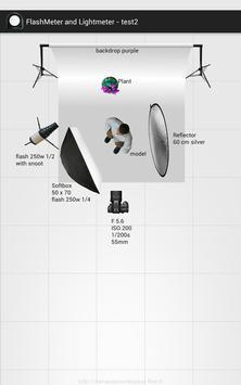 Flashimetro y Fotómetro captura de pantalla 6