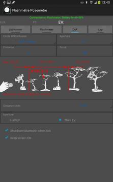 Flashimetro y Fotómetro captura de pantalla 9