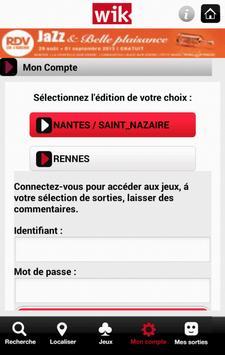 WIK - Nantes / Rennes screenshot 2