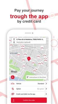 G7 TAXI Personal - Paris screenshot 3
