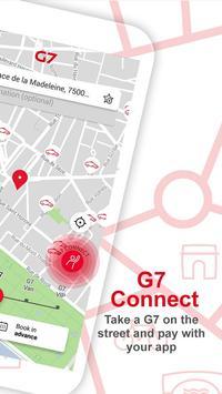 G7 TAXI Personal - Paris screenshot 1