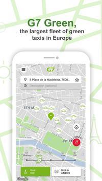 G7 TAXI Personal - Paris screenshot 2
