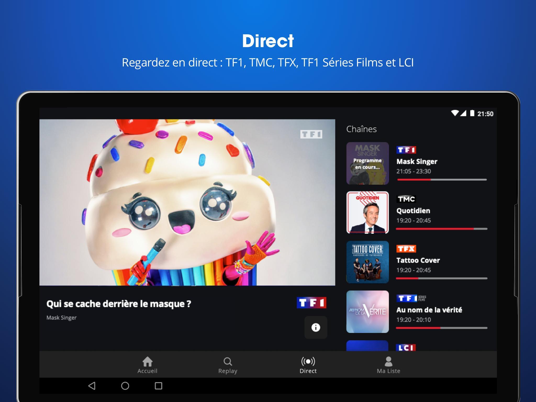 6PLAY SMART TV SUR TÉLÉCHARGER