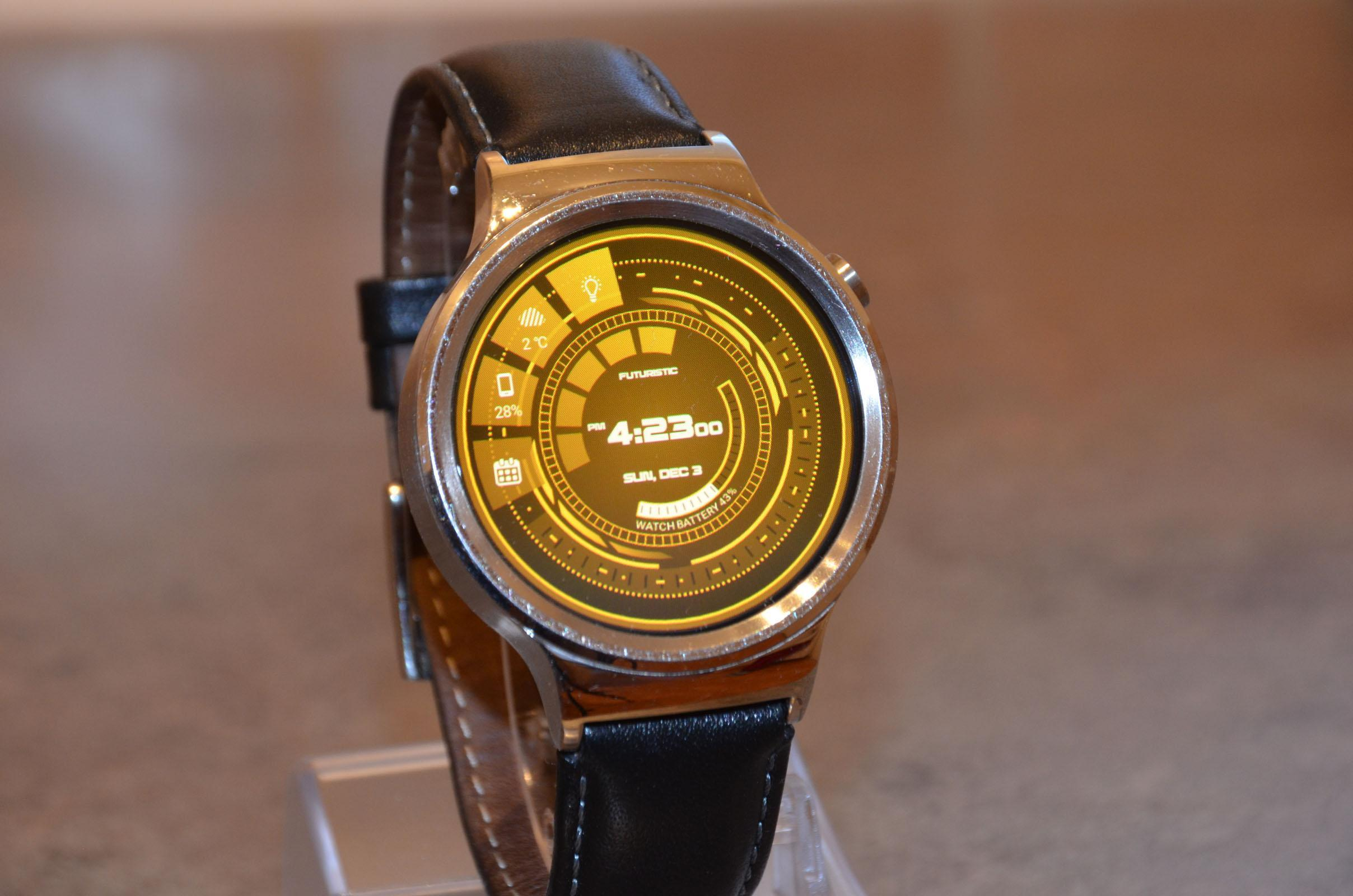 Futuristic GUI Watch Face for Android - APK Download