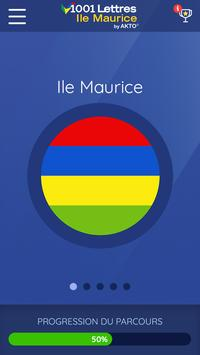 1001 Lettres Ile Maurice poster