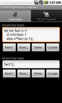OCaml Toplevel for Android poster