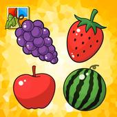 水果学习卡 图标
