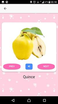 Fruits and Vegetables Name for Kids (Audio) screenshot 5