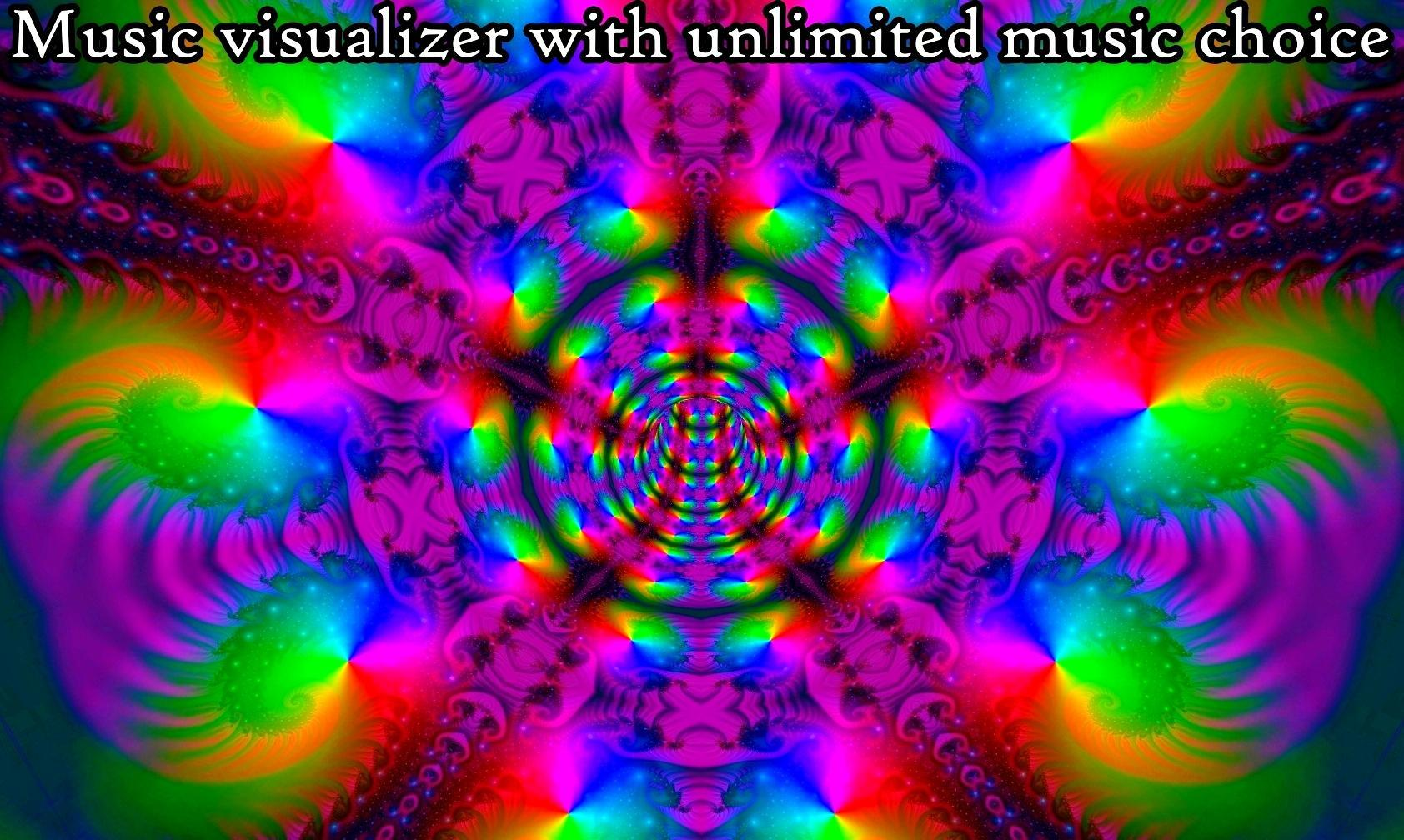 Fractal Tunnels Music Visualizer Live Wallpaper Para Android