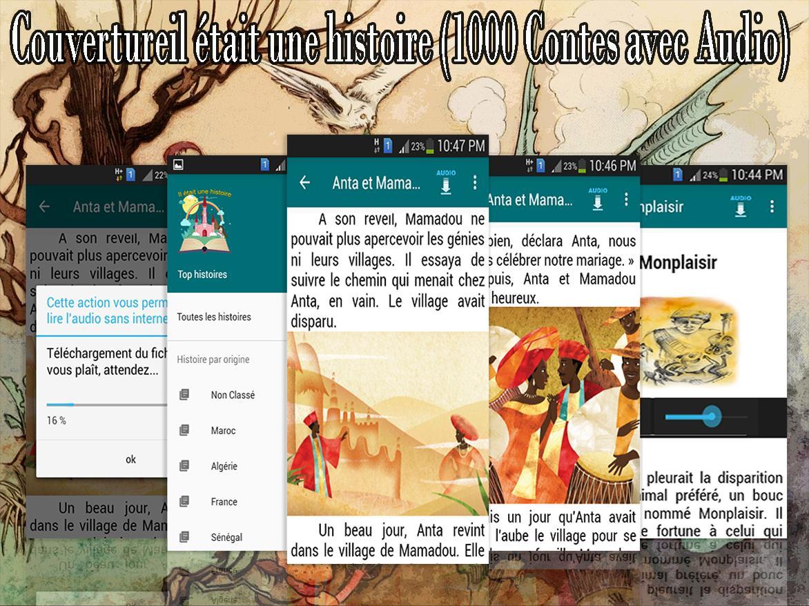 Il Etait Une Histoire 1000 Contes Avec Audio For Android Apk