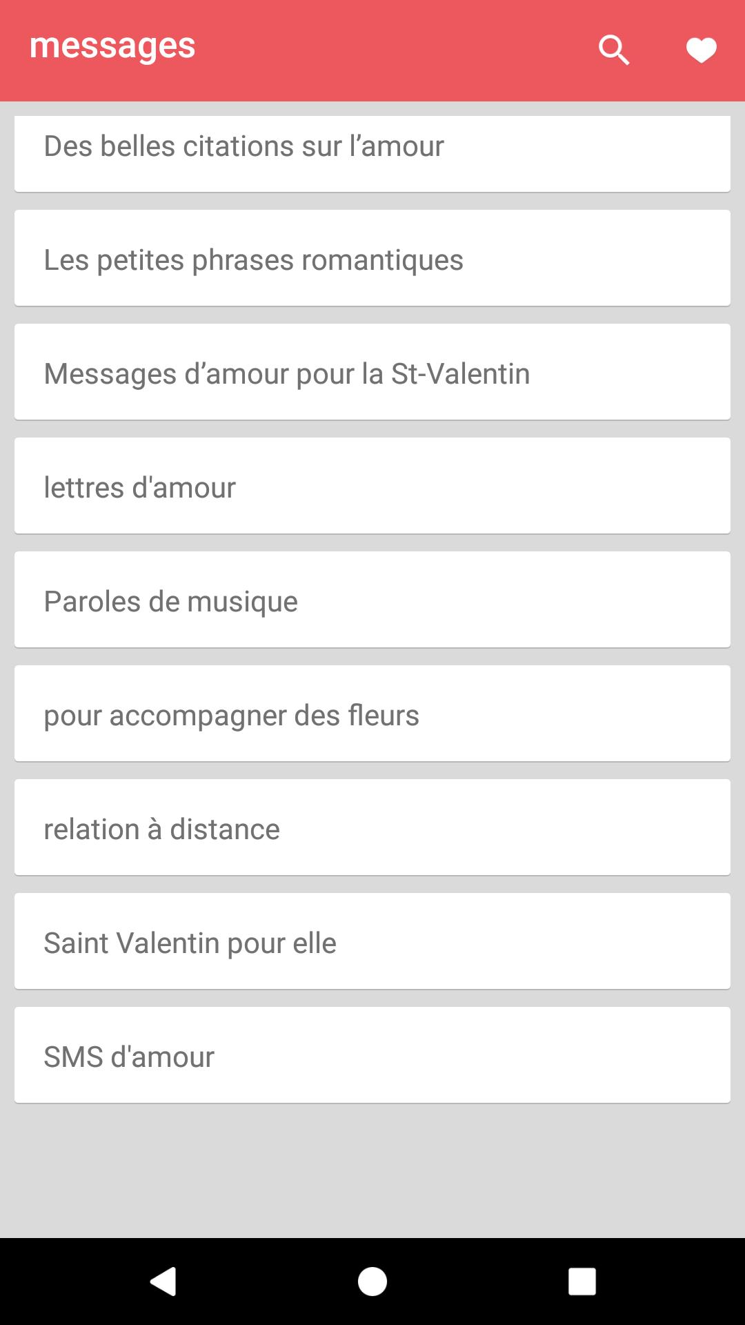 Messages Damour Et Phrases For Android Apk Download