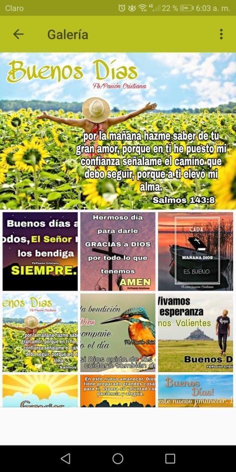 Frases Buenos Días Cristianos For Android Apk Download