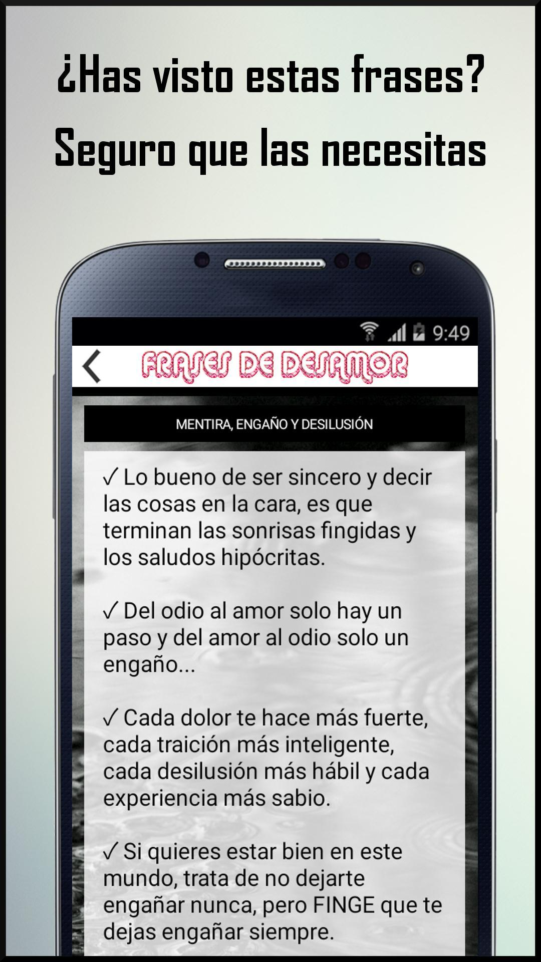 Frases Desamor Y Amor Roto For Android Apk Download
