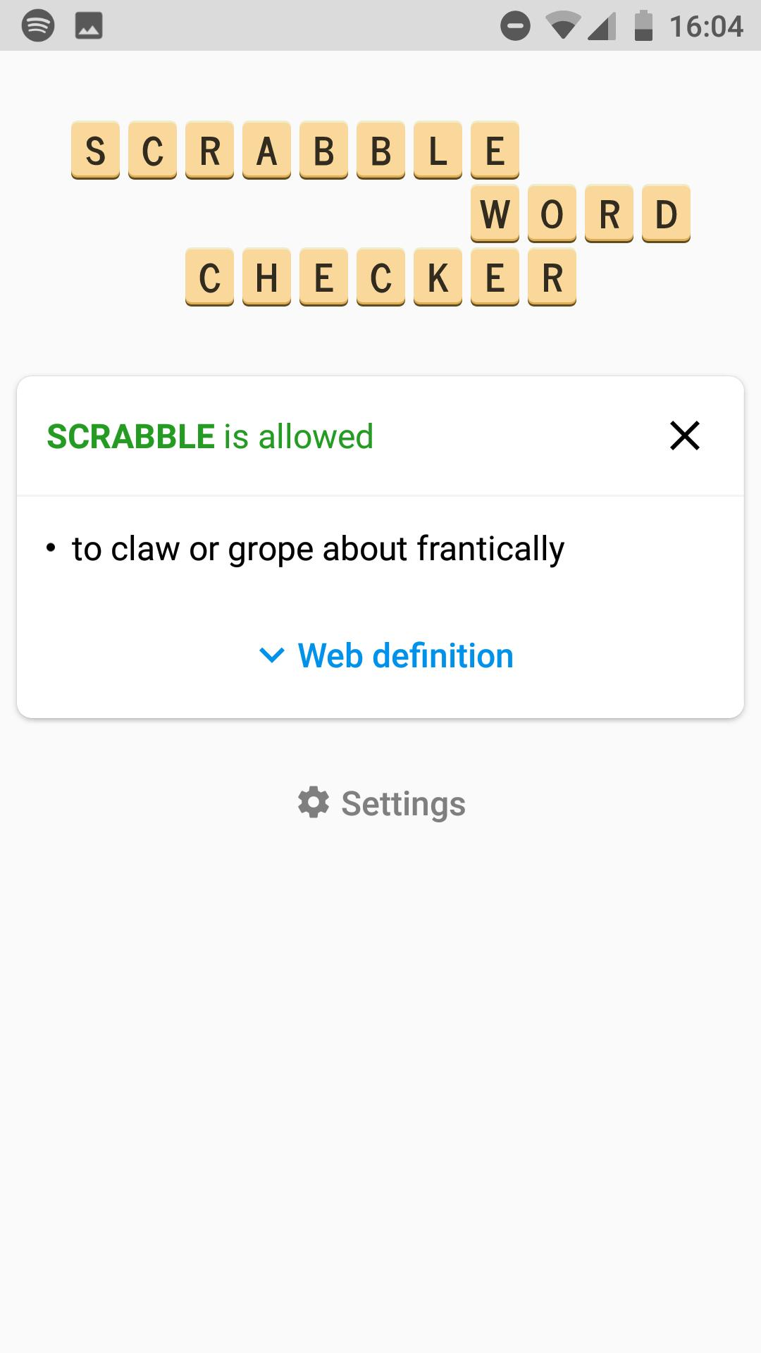 SCRABBLE Word Checker for Android - APK Download