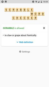 SCRABBLE Word Checker