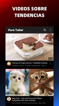 Pure Tuber - Sin Ads, Premium Gratis captura de pantalla 5