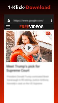 Kostenloser Video-Downloader Plakat