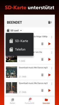 Kostenloser Video-Downloader Screenshot 2