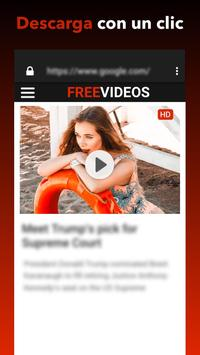 Descargador de vídeos gratis Poster