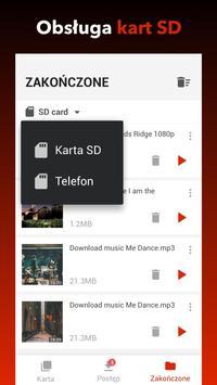 Darmowa aplikacja do pobierania wideo screenshot 2