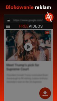 Darmowa aplikacja do pobierania wideo screenshot 4