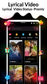 Video Status Maker :  Lyrical Video Downloader poster
