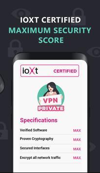 VPN Private 스크린샷 4