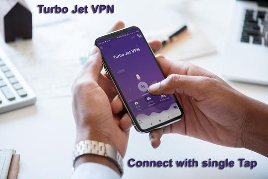 Turbo Jet VPN  free and unlimited VPN Proxy. poster