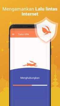 Turbo VPN–VPN Gratis Tanpa Batas & Hotspot Teraman screenshot 1