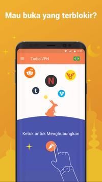 Turbo VPN–VPN Gratis Tanpa Batas & Hotspot Teraman screenshot 2
