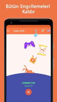 Turbo VPN Ekran Görüntüsü 2