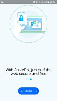 JustVPN स्क्रीनशॉट 5