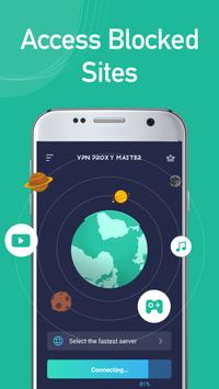 Free unblock VPN& security VPN by VPN Proxy Master-poster