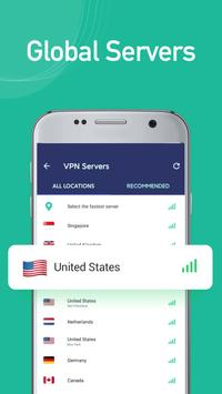 Free unblock VPN& security VPN by VPN Proxy Master screenshot 1