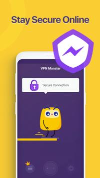 Unlimited Free VPN Monster - Fast Secure VPN Proxy poster