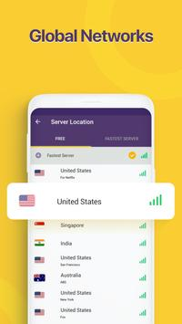 Unlimited Free VPN Monster - Fast Secure VPN Proxy screenshot 1