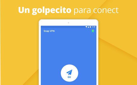 Snap VPN captura de pantalla 4