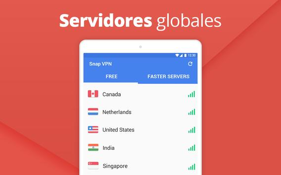 Snap VPN captura de pantalla 5