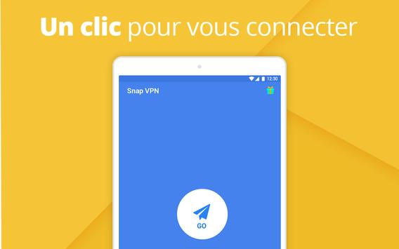 Snap VPN capture d'écran 4