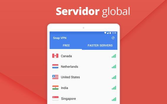 Snap VPN imagem de tela 5