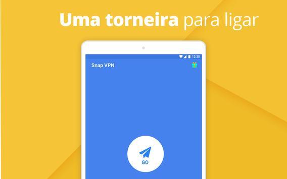 Snap VPN imagem de tela 4