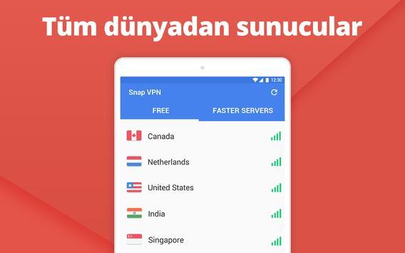Snap VPN Ekran Görüntüsü 8