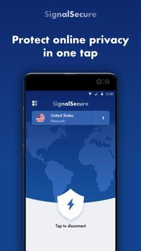 Signal Secure VPN Plakat