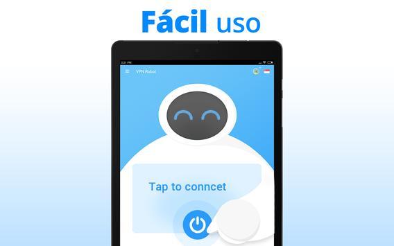 VPN Robot captura de pantalla 4