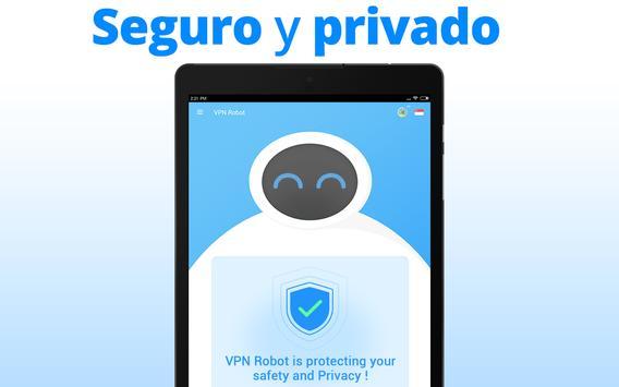 VPN Robot captura de pantalla 6