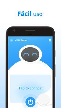 VPN Robot captura de pantalla 1