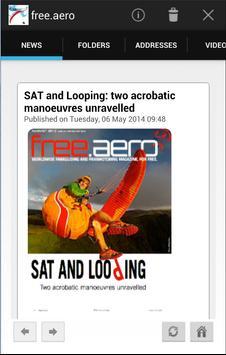 free.aero, free paragliding paramotoring magazine poster
