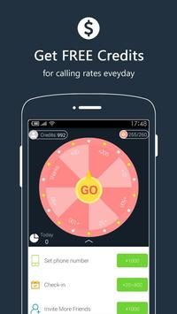 Free Call - Telefon: Kostenlos international Anruf Screenshot 3
